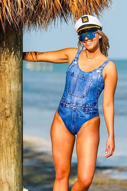 7a22982952 Meet the jeado and jekini: denim swimwear is here for summer   Metro ...