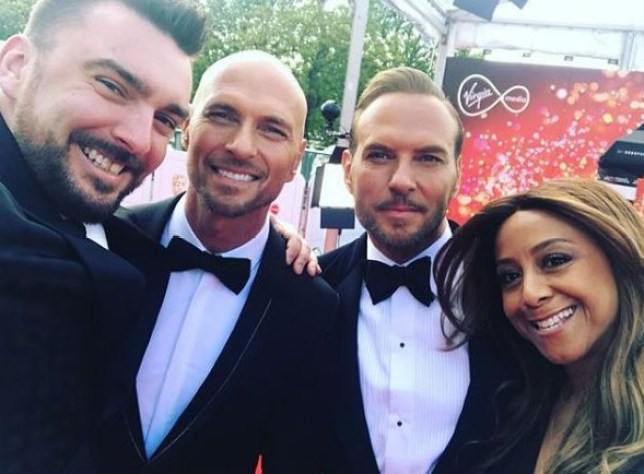 METRO GRAB INSTA Luke Goss and wife Shirley at TV Bafta, London 12th May 2019 https://www.instagram.com/p/BxYIxDFHus1/