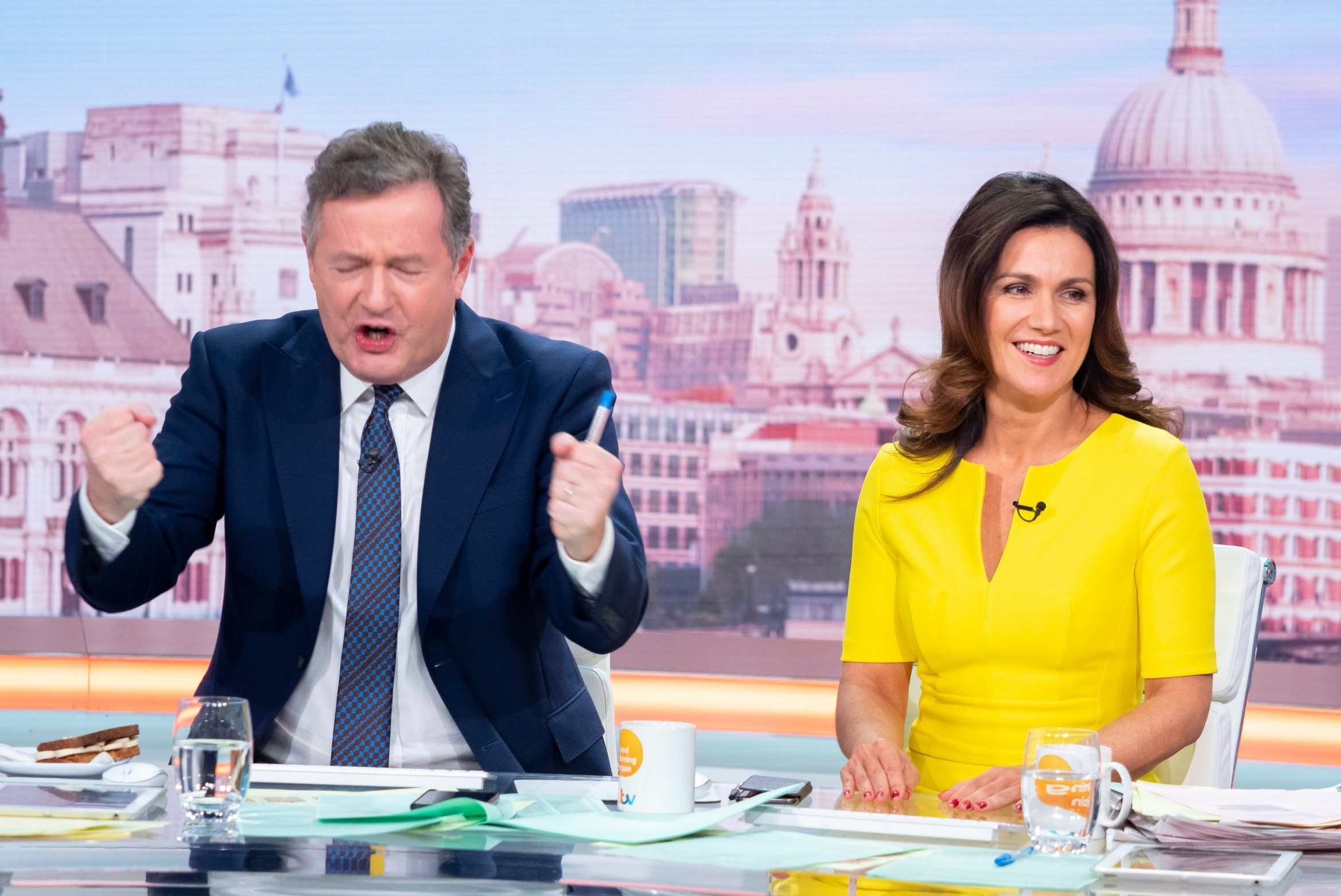 Piers Morgan blasts 'spineless and pathetic' BBC as Good Morning Britain loses out at TV Awards