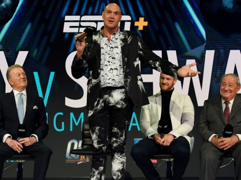 Tyson Fury vows to strip Anthony Joshua and Deontay Wilder of heavyweight titles within a year