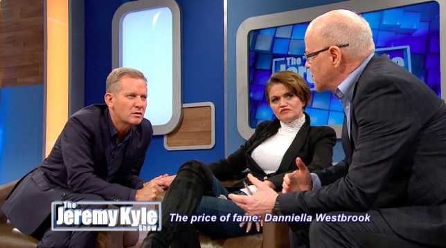 Danniella Westbrook on The Jeremy Kyle Show with Jeremy Kyle and Graham Stanier