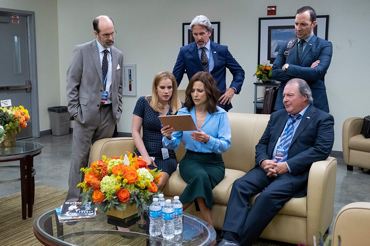 Julia Louis-Dreyfus among Veep cast bidding farewell to show after season 7 finale