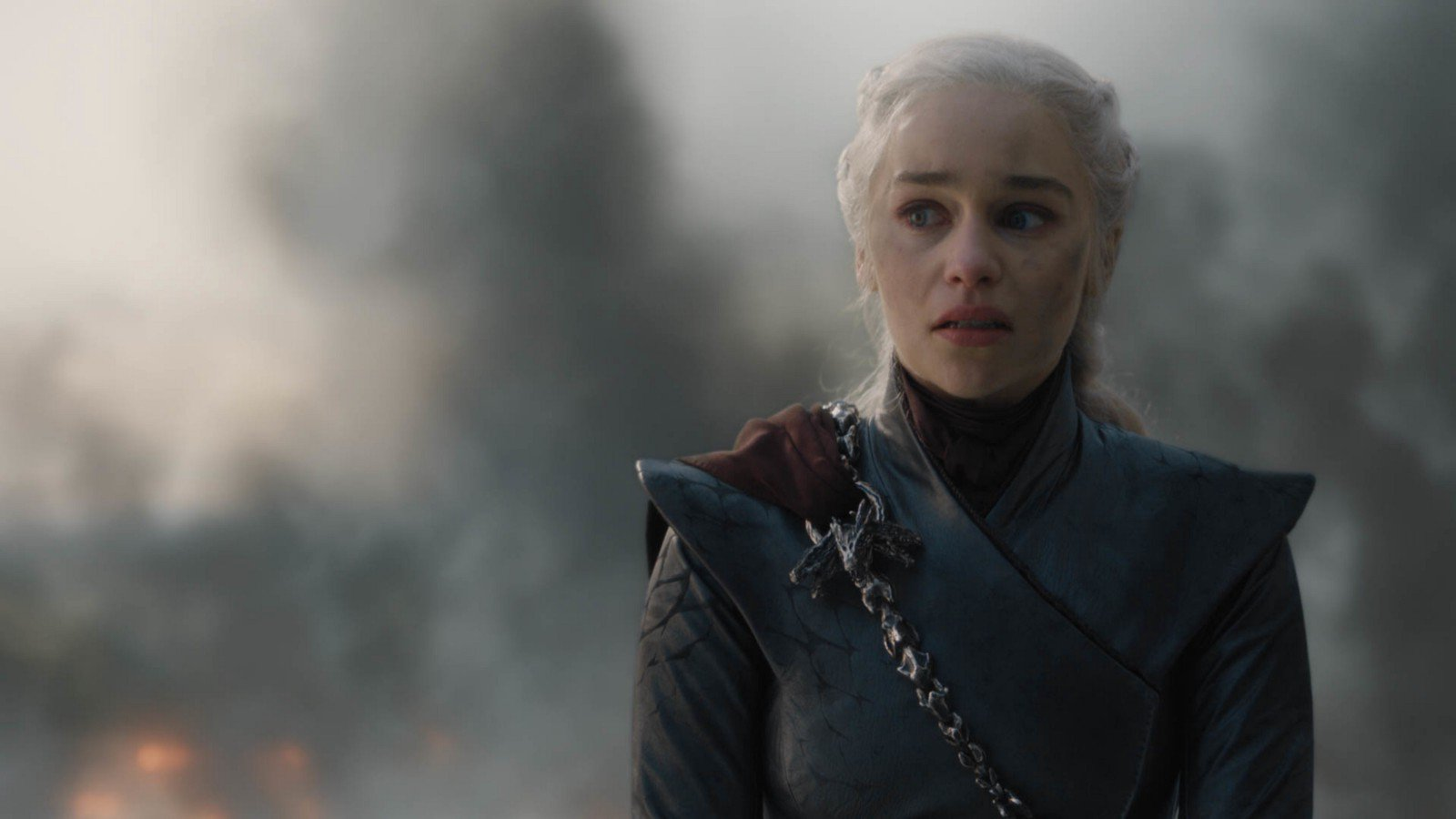 Emilia Clarke as the Mad Queen Daenerys (Picture: HBO)