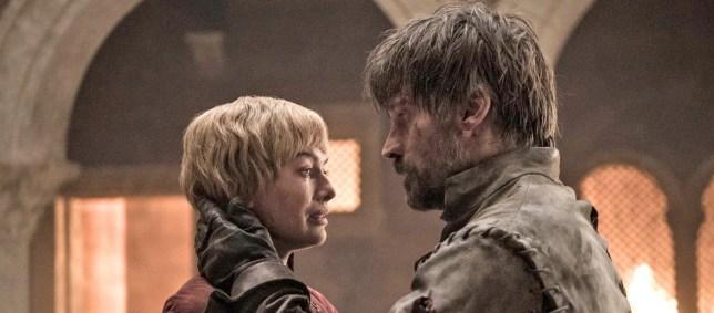 Cersei Jamie Game of Thrones season 8