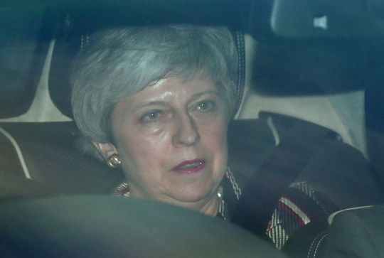 "Prime Minister Theresa May leaves the House of Commons in London as Shadow Brexit secretary Sir Keir Starmer warned it was ""impossible"" to see how an agreement between the Conservatives and his party could clear the Commons unless it guaranteed the deal would be put back to the public for a ""confirmatory vote"". PRESS ASSOCIATION Photo. Picture date: Monday May 13, 2019. See PA story POLITICS Brexit. Photo credit should read: Yui Mok/PA Wire"