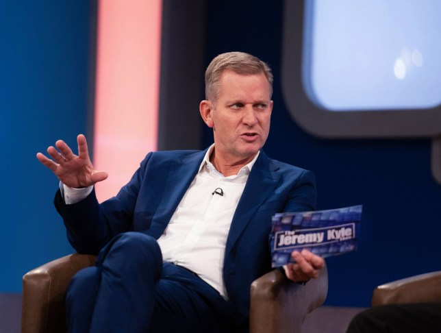 Jeremy Kyle on ITV's Jeremy Kyle show, which has been axed