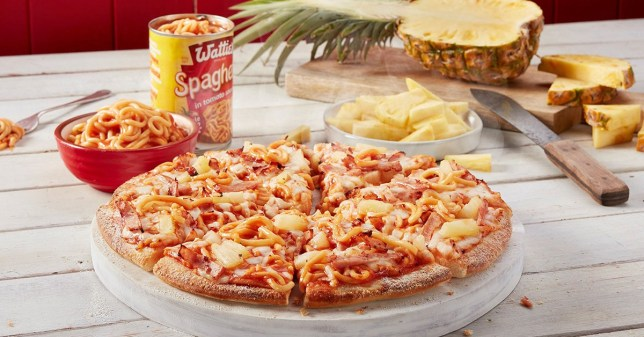 Dominos New Zealand Has Launched A Pineapple And Tinned