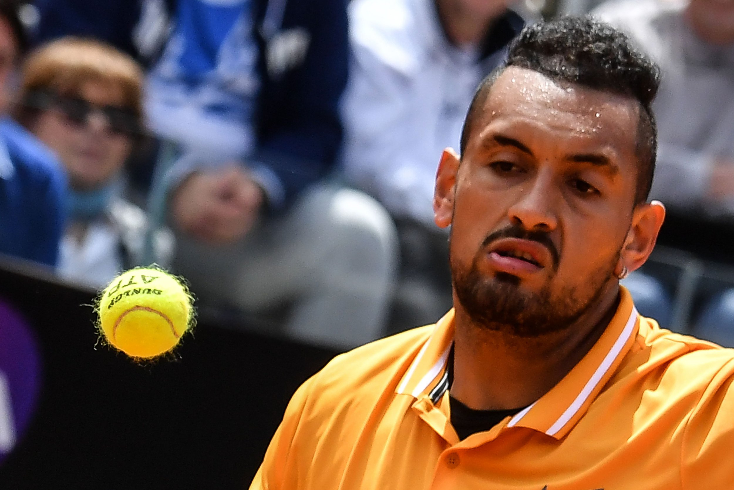 What furious Nick Kyrgios yelled at fans in foul-mouthed rant before throwing chair