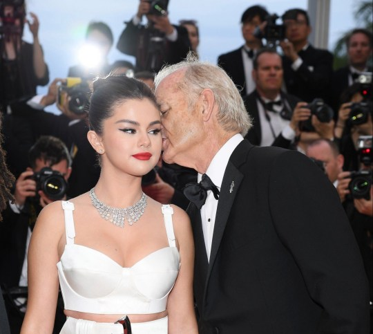 "CANNES, FRANCE - MAY 14: Selena Gomez and Bill Murray attend the opening ceremony and screening of ""The Dead Don't Die"" during the 72nd annual Cannes Film Festival on May 14, 2019 in Cannes, France. (Photo by Pascal Le Segretain/Getty Images)"