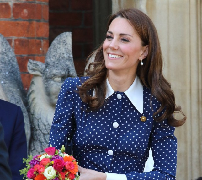 SIPA USA via PA Images Kate Middleton, Duchess of Cambridge seen leaving after her visit to the D-Day exhibition at Bletchley Park, England. (Photo by Keith Mayhew / SOPA Images/Sipa USA)