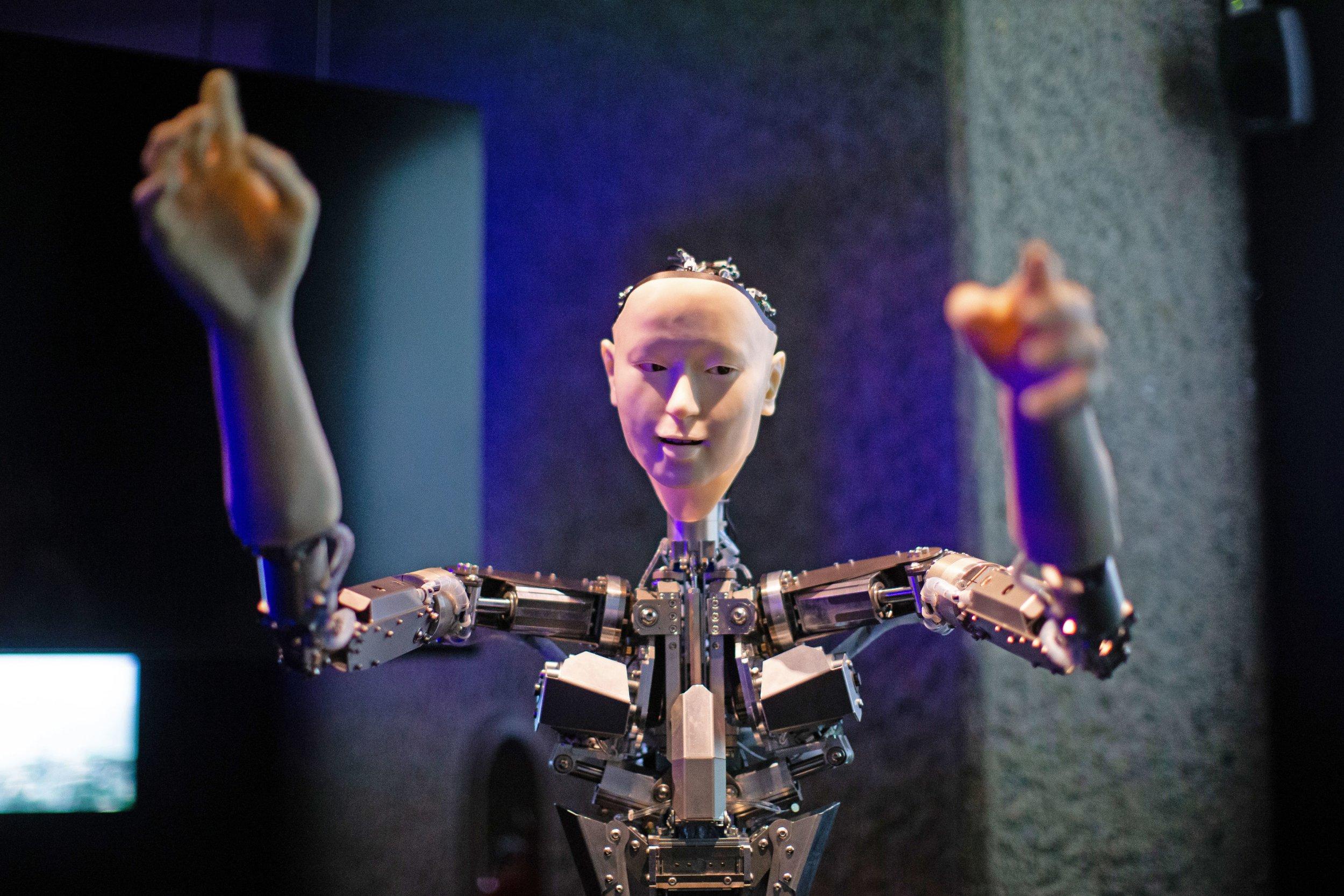 AI arrives in London as futuristic exhibition kicks off