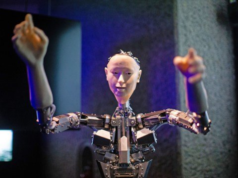 Artificial intelligence arrives in London as futuristic exhibition kicks off