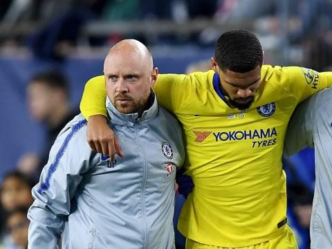 Chelsea confirm Ruben Loftus-Cheek will miss the Europa League final after rupturing his Achilles