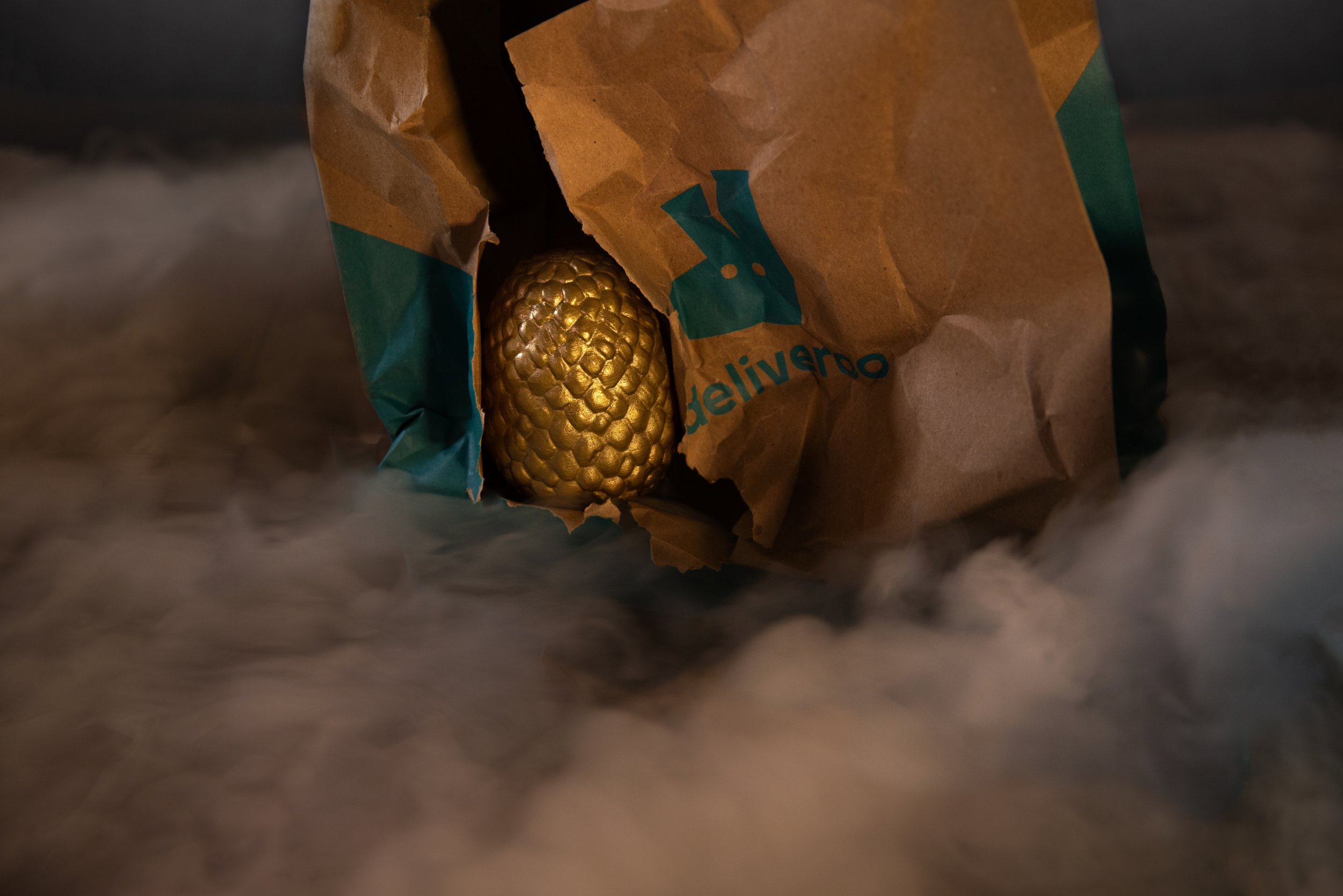 Find a Deliveroo golden egg in your meal and win £5,000 in credit