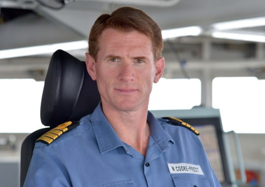 File photo dated 8/6/2015 of Captain Nick Cooke-Priest. The captain of the largest and most powerful ship ever built for the Royal Navy has been sacked for misusing its official car, it has been reported. PRESS ASSOCIATION Photo. Issue date: Friday May 17, 2019. Cooke-Priest is no longer in charge of the HMS Queen Elizabeth because he is believed to have driven the aircraft carrier's official car on weekends, according to The Sun. See PA story DEFENCE Elizabeth. Photo credit should read: Rowan Griffiths/Daily Mail/PA Wire