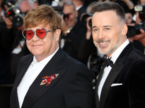 Elton John reveals husband David Furnish 'went to rehab for alcohol issues' following battle with fame