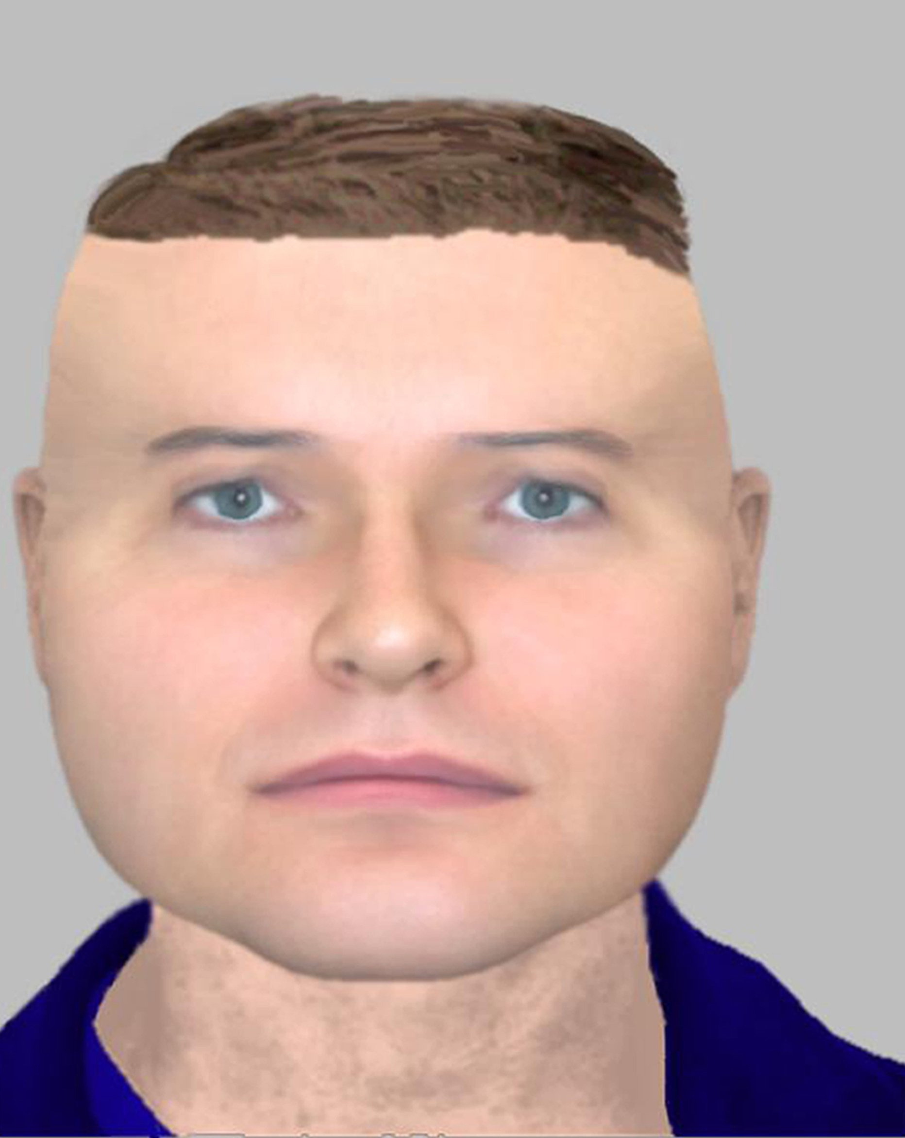 Police mocked for e-fit 'which looks like Lego character'
