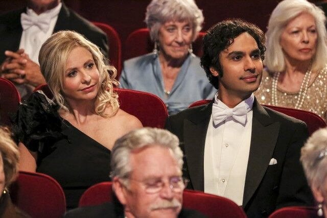 Sarah Michelle Gellar was 'honoured' and 'excited' to guest star in The Big Bang Theory finale
