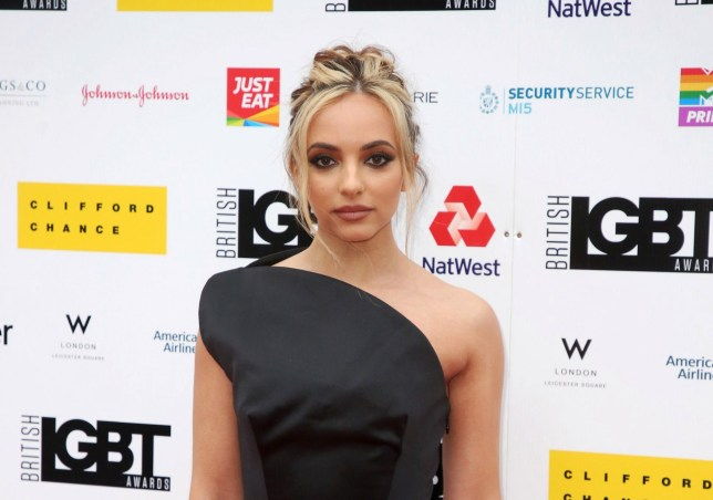 Jade Thirlwall attended the British LGBT Awards 2019 in London
