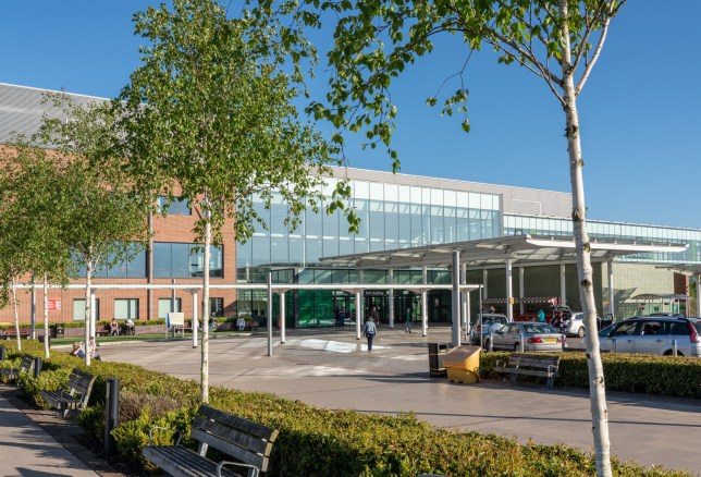 The Dr who works at Royal Stoke University Hospital, in Stoke-on-Trent, Staffordshire, could face being sacked over the incident