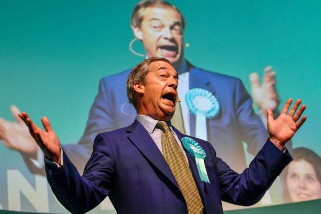 Police fear Nigel Farage will be targeted by milkshake throwers