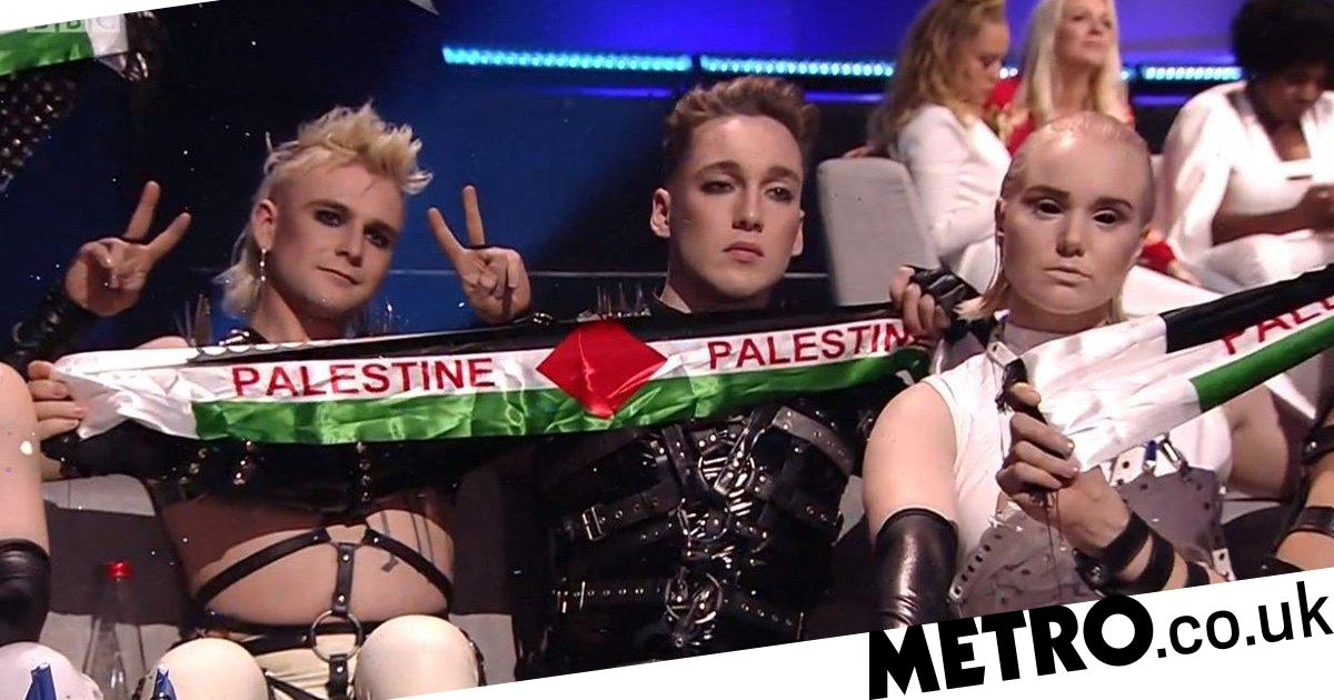 Iceland use Eurovision to protest against the Israeli occupation of Palestine
