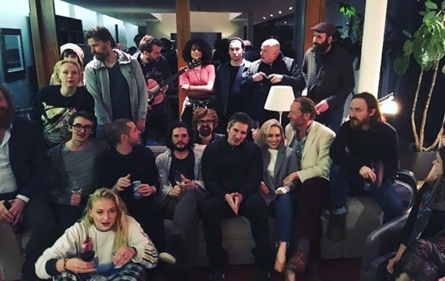 Game Of Thrones stars pay emotional farewell ahead of season 8 finale