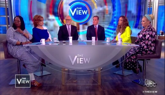 Whoopi Goldberg talking about Pneumonia on The View