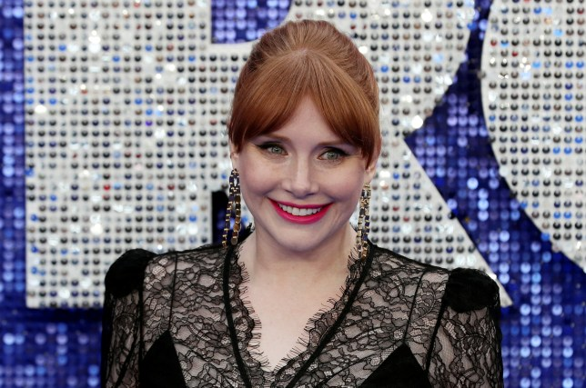 Bryce Dallas Howard poses for a photograph during the UK premiere of the Elton John biopic 'Rocketman' in London, Britain, May 20, 2019. REUTERS/Simon Dawson