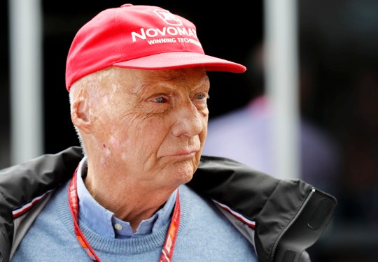 Niki Lauda in 2018