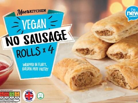 Aldi launches vegan sausage rolls