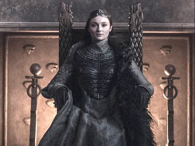 Game Of Thrones fans lose it over secret messages in Sansa Stark's final costume