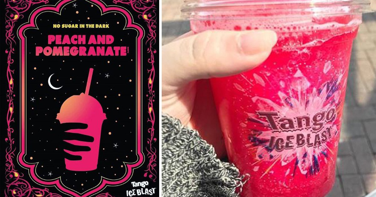 Tango Ice Blast launches new peach and pomegranate flavour