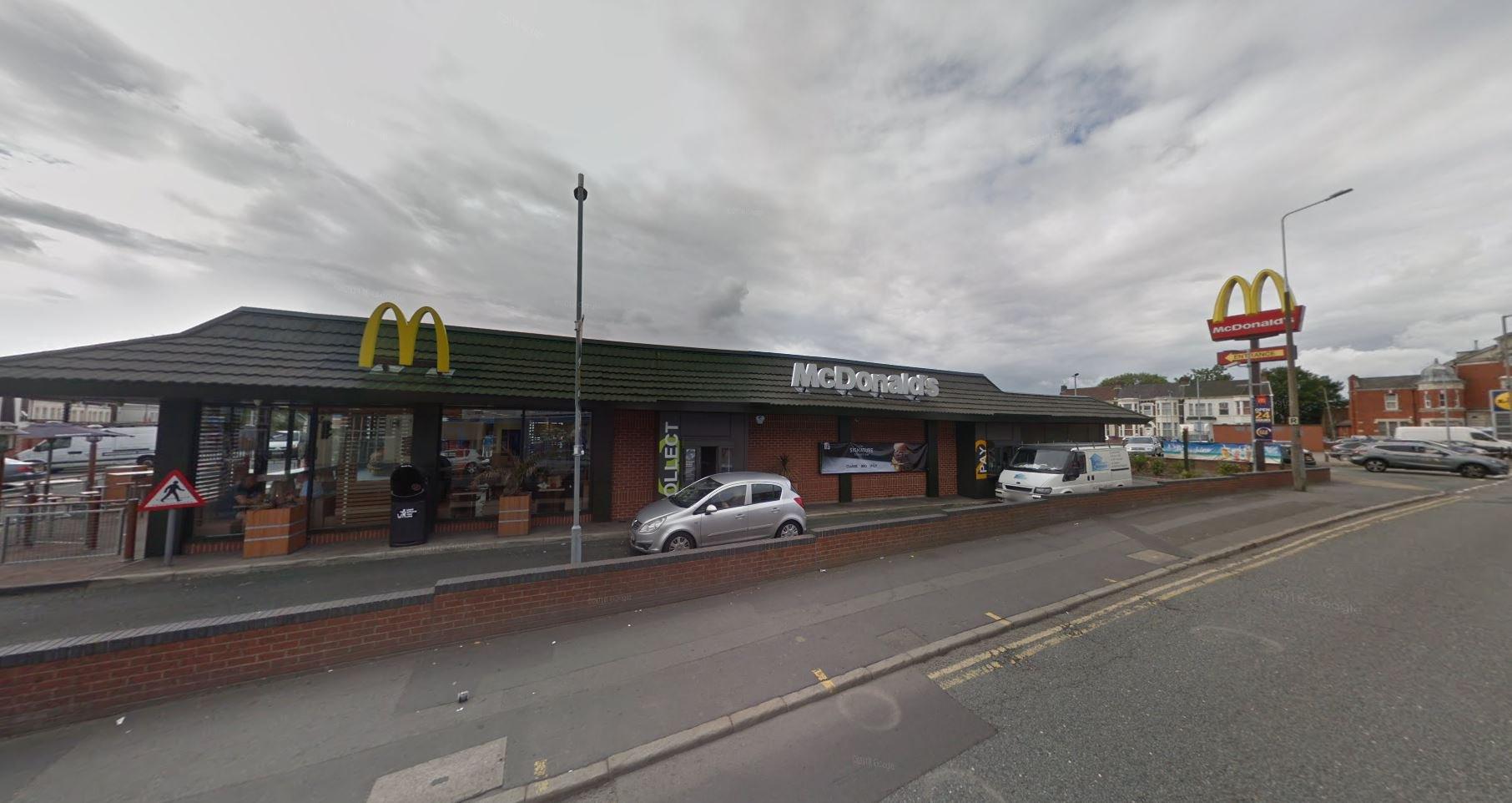 Man found dead in McDonald's toilet