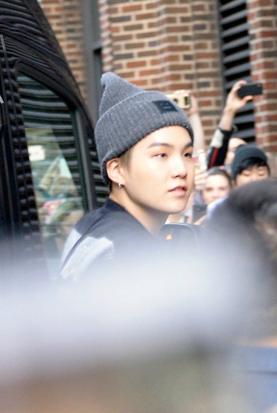BTS new pictures in New York City and we're digging their