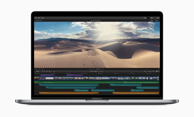Apple updates the 13-inch and 15-inch Macbook Pro Picture: Apple METROGRAB