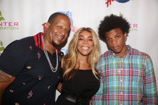 Kevin Hunter, Wendy Williams and Kevin Hunter Jr