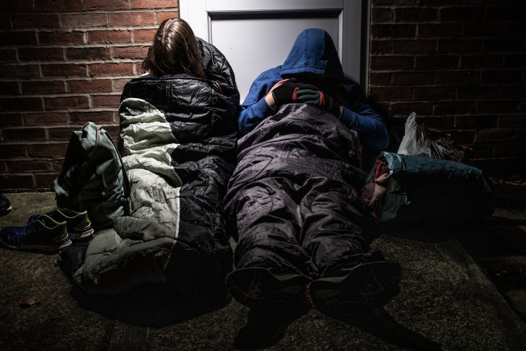A hidden housing crisis is leaving thousands of young people at risk of homelessness.