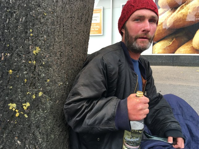 """An aggressive bogus beggar who """"preyed on the sympathies of the public"""" after pretending to be homeless has been jailed. Matthew McNamara covered himself in a blanket or sleeping bag and walked the streets of east Hull pretending to be homeless and begging for money - despite living in a flat in nearby Westcott Street. Caption: Matthew McNamara, 43, of Westcott Street in Hull, East Yorkshire, who has been jailed for 24 weeks after breaching the conditions of a a criminal behaviour order (CBO)"""