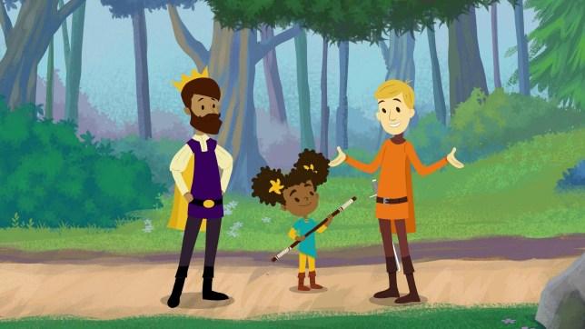 New cartoon Bravest Knight features same-sex parents Provider: Hulu Source: https://ew.com/tv/2019/05/23/hulu-the-bravest-knight-same-sex-parents/?utm_medium=social&utm_campaign=entertainmentweekly_ew&utm_source=twitter.com&utm_content=link&utm_term=6FCDAFCE-7D72-11E9-B087-A58F4744363C