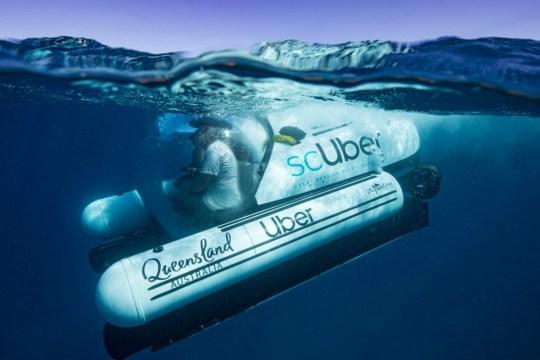 The underwater Uber