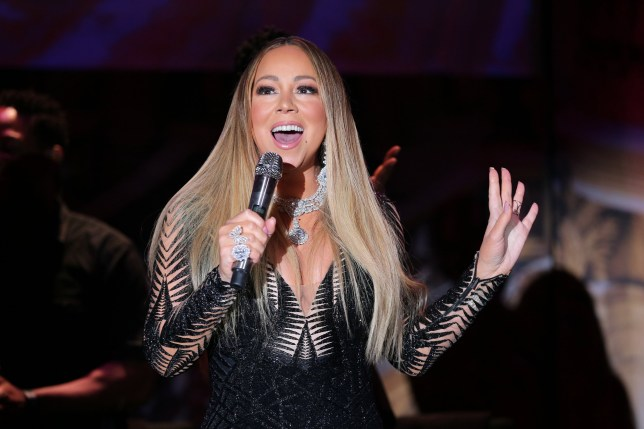 Mariah Carey at the amfAR Cannes Gala 2019