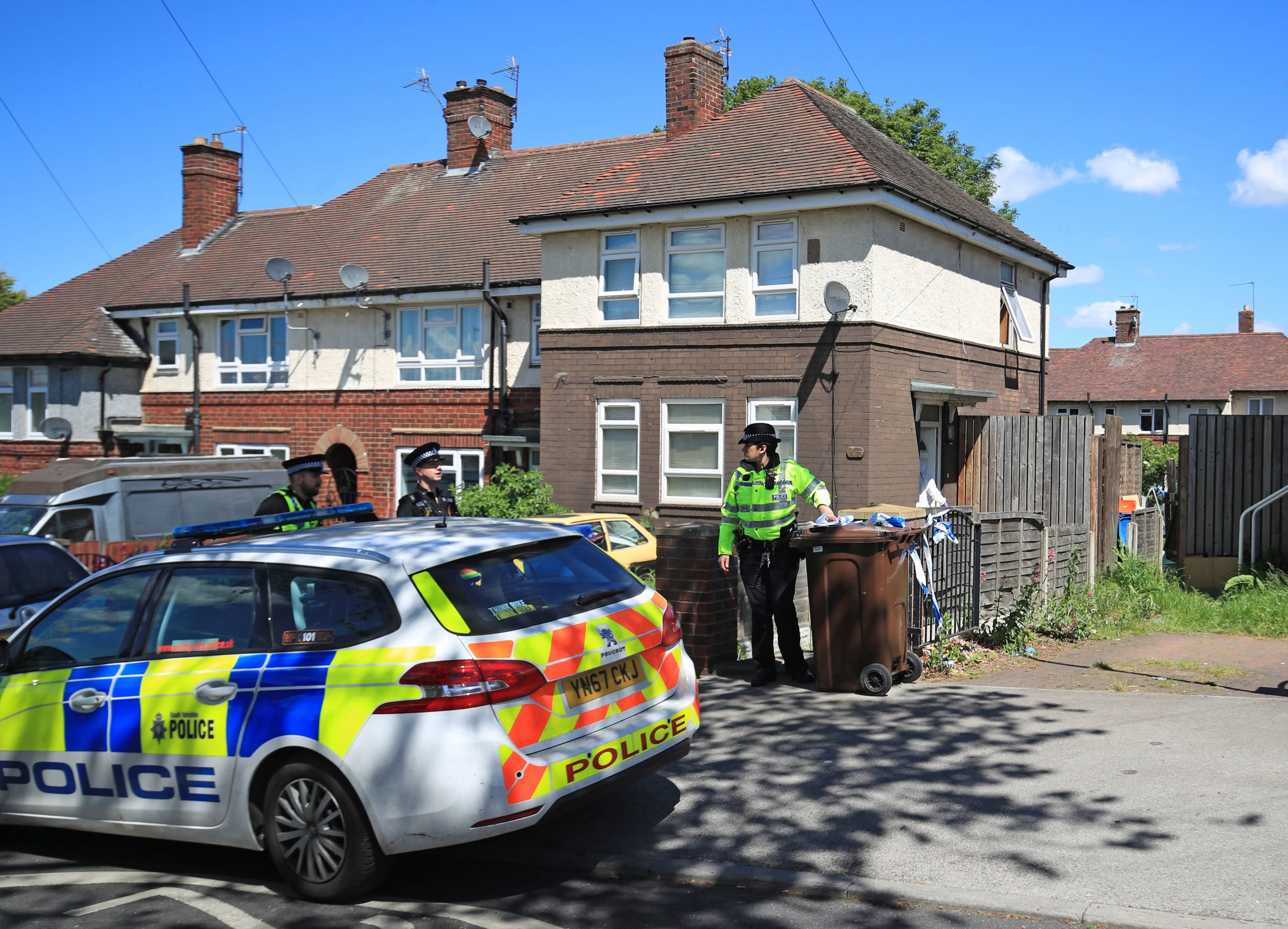 Man and woman charged after boys died at house in Sheffield