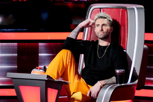 "THE VOICE -- ""Battle Rounds"" -- Pictured: Adam Levine -- (Photo by: Trae Patton/NBC/NBCU Photo Bank via Getty Images)"