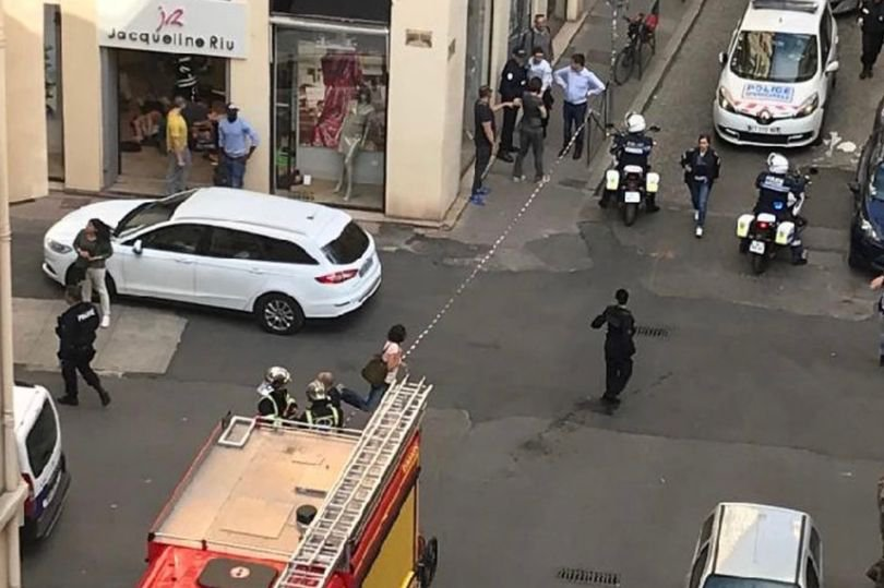 Six injured after 'parcel bomb' explodes in Lyon street
