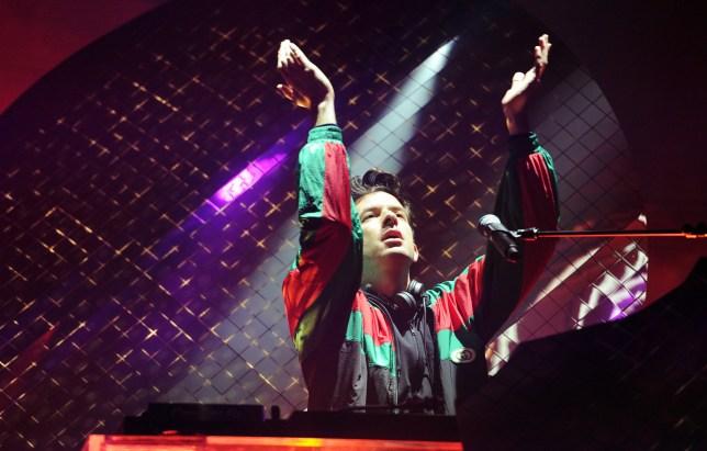Mark Ronson at Radio 1's Big Weekend 2019