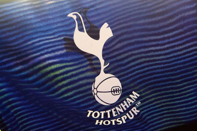 a flag for the Tottenham Hotspur team