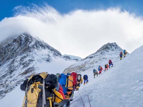 The biggest danger of climbing Everest? Other people