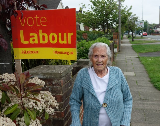 """EAST ANGLIA NEWS SERVICE, tel. 07767 413379 Margot Packwood, 92, who was readmitted to the Labour Party after being expelled following 71 years membership because she nominated her daughter as a Green candidate in an Ipswich Borough Council election, pictured at her home in Ipswich, Suffolk EAST ANGLIA NEWS SERVICE, tel.07767 413379 Pics available A grandmother aged 92 has been allowed back into the Labour Party after being booted out for nominating her daughter as a Green candidate in a local council election. Margot Packwood?s gesture of support for her daughter Lesley led to her being expelled despite her 71 years of loyal membership. A letter from Labour?s national Governance and Legal unit told her she had broken party rules by nominating someone standing against a Labour candidate in Ipswich Borough Council elections. Mrs Packwood, a former school bursar of Ipswich, Suffolk, said: """"I was dumbfounded and shattered when this letter came through. I was left petrified. It never occurred to me that I was doing anything wrong. ?It used all kinds of official language. I know now that I should have read the small print of the membership rules, but I've been in the party so long you don't think about those kind of things. ?When my daughter said she was going to stand as a Green candidate, I was happy to sign her papers. I said it was fine by me. It is a free country. You can vote for who you want.? Her expulsion was reversed on ?compassionate grounds? after three weeks by Labour Party General Secretary Jennie Formby following a plea from the party?s Ipswich secretary John Cook for Mrs Packwood to be shown leniency. Mother-of-three Mrs Packwood who has two grandchildren said: ?I am delighted to get my membership back ? but I wish the original letter had not been sent in the first place. ?A friendly phone call advising me of my mistake would have been far less distressing. I?m glad it has all been resolved now and I am back in their good books.? Mr Cook said: ?It's right"""