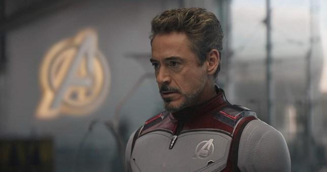 Avengers gang photo from vital Endgame scene A Still from Avengers End Game Tony Stark
